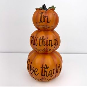 ⭐️FIRM PRICE⭐️ Fall/ Thanksgiving Stacked Pumpkin Decor -NEW